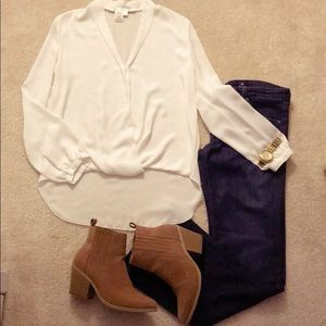High loose blouse